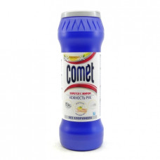 Порошок чистящий Comet Нежность рук лимон, 475г