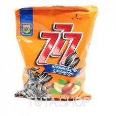 Семечки 777 подсолнечные жареные с арахисом, 177.7г