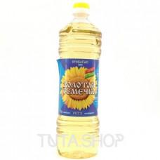 Масло Золотая Семечка подсолнечное рафинированное, 1л