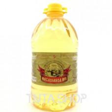 Масло Маслозавод №1 подсолнечное рафинированное, 5л