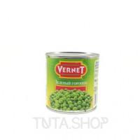 Консерва овощная Vernet горошек зеленый консервированный, 400г