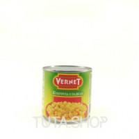 Консерва овощная Vernet кукуруза сладкая в зернах, 340г