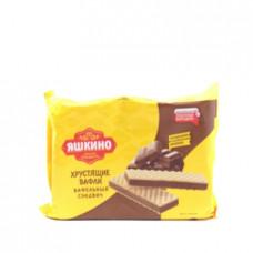 Вафельный сэндвич Яшкино с шоколадной начинкой, 180г