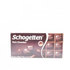 Schogetten Dark Темный шоколад, 100 г