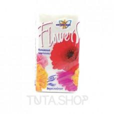 Платочки бумажные Мягкий знак Flowers 10шт.