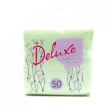 Бумажные салфетки Deluxe, 50шт