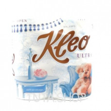 Бумага туалетная Kleo Ultra 3 слоя, 4шт