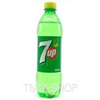 Напиток 7 UP газированный Лимон-лайм, 0.5л