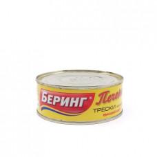 Консерва рыбная Беринг печень трески, 230г