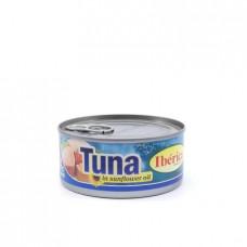 Консерва рыбная Iberica тунец в растительном масле, 160г