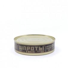 Консерва рыбная Балтийский консервный завод шпроты в масле, 160г