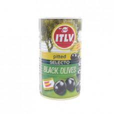 Маслины ITLV черные без косточек, 350г
