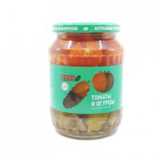Ассорти (томаты, огурцы) Хороший сезон, 680 мл ст/б