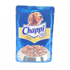 Корм для собак желе Chappi Мясное изобилие, 100гр