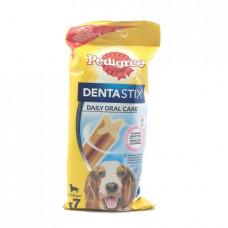 Лакомство для собак по уходу за зубами Pedigree Denta Stix для средних пород, 180гр