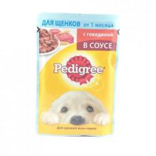 Корм для щенков желе Pedigree Говядина в соусе, 85гр