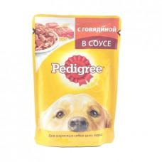 Корм для собак желе Pedigree Говядина в соусе, 100гр