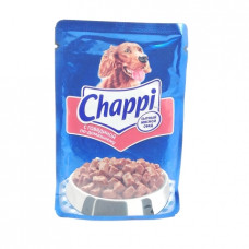 Корм для собак желе Chappi Говядина по домашнему, 100гр