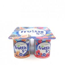 Йогурт Campina Fruttis инжир чернослив малина земляника 5%, 115г