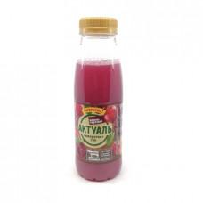 Напиток Актуаль Danone сывороточный с соком вишня и черешня, 310г