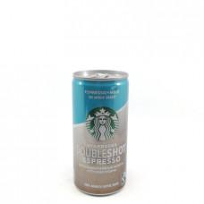Напиток кофейный Starbucks Doubleshot Espresso без сахара 2.6%, 200 мл ж/б