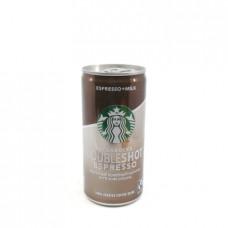 Напиток Starbucks Doubleshot Espresso кофейный 2.6%, 200 мл ж\б