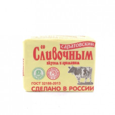 Маргарин Саратовский со сливочным вкусом, 60% 180г
