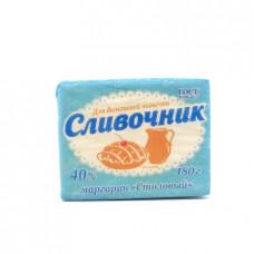Маргарин Сливочник столовый, 40% 180г