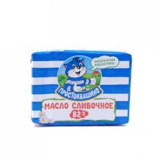 Масло Простоквашино сладкосливочное, 82% 180г