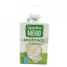 Молоко Здоровое Меню соевое 2%, 0.5л