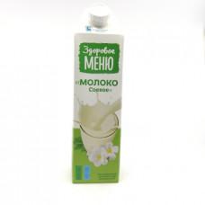 Молоко Здоровое Меню соевое 2%, 1л