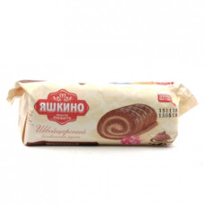 Рулет бисквитный Яшкино Шоколадный, 200г