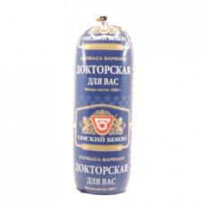 Колбаса вареная Докторская для Вас Омский Бекон, 450г