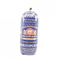 Колбаса вареная Докторская Омский Бекон, 450 гр