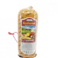 Продукт сырный плавленый Плавыч копченый с грибами 40%, 400г