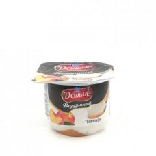 Десерт творожный воздушный Дольче персик 2.8%, 100г
