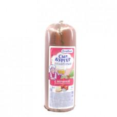 Сыр Бургер Плавыч колбасный копченый с ветчиной 40%, 400г