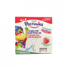 Йогурт Danone Растишка клубника 3%, 4шт.х100г