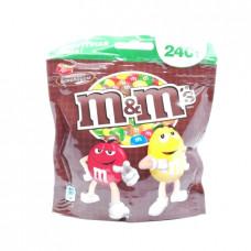 Драже M&M's молочный шоколад, 240г