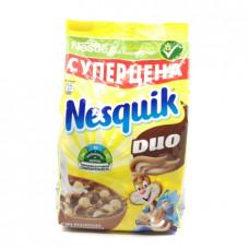 Сухой завтрак Nesquik Duo шарики воздушные шоколадные, 250г