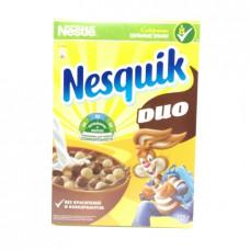 Сухой завтрак Nesquik Duo шарики воздушные шоколадные, 375г
