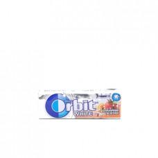 Жевательная резинка Orbit White клубничная экзотика, 14г