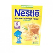 Каша Nestle безмолочная Мультизлаковая 5 злаков, 200г