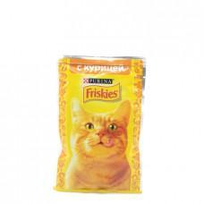 Консервированный корм для кошек Friskies Курица, 85г