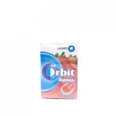 Леденцы Orbit спелая клубника, 35г