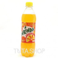 Напиток Mirinda газированный Апельсин, 0.5л