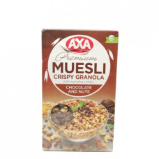 Мюсли АХА Crispy шоколад и орехи, 250г