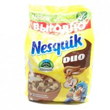 Сухой завтрак Nesquik Duo шарики воздушные шоколадные, 700г