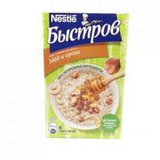 Каша Быстров 5 злаков мед и орехи Без варки 240 гр (40г*6шт)