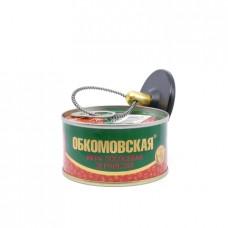 Икра лососевая Обкомовская зернистая, 140г